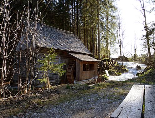 Die alte Mühle in Ramsau am Dachstein steht im Ortsteil Rössing
