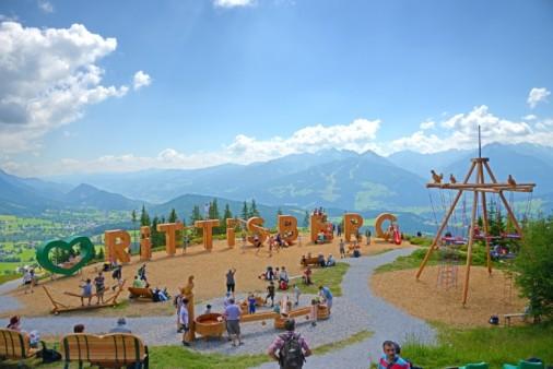 Der Höhenspielplatz am Rittisberg