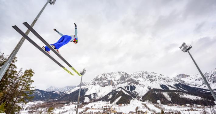 Nordische Kombination Ramsau Skiflug