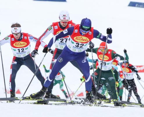 Weltcup Nordische Kombination Langlaufen