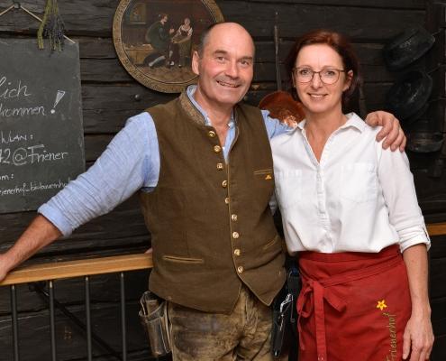 Georg und Claudia Berger vom Frienerhof in Ramsau am Dachstein