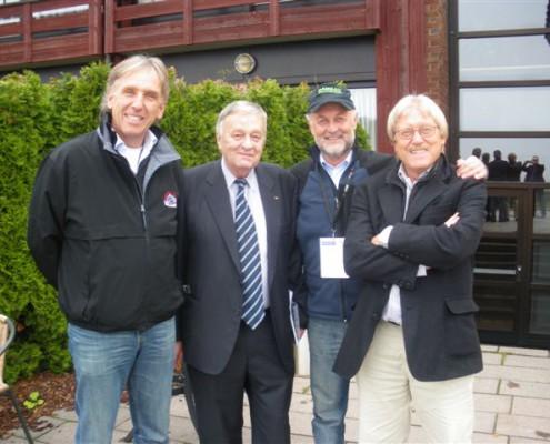 Voriges Jahr fand das Forum Nordicum mit den Ramsauer Vertretern Wolfgang Mitter (WSV links) und Heinz Prugger (Tourismusverband, 2.v.r.) in Oslo statt.
