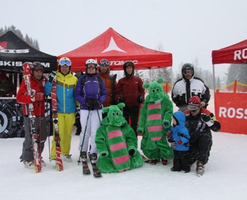 Skitest mit professionellen Skiguiding