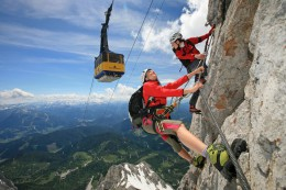 "Klettersteig ""Skywalk"""
