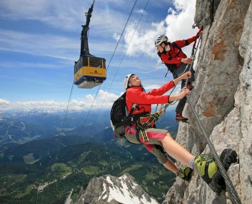 """Klettersteig """"Skywalk"""""""